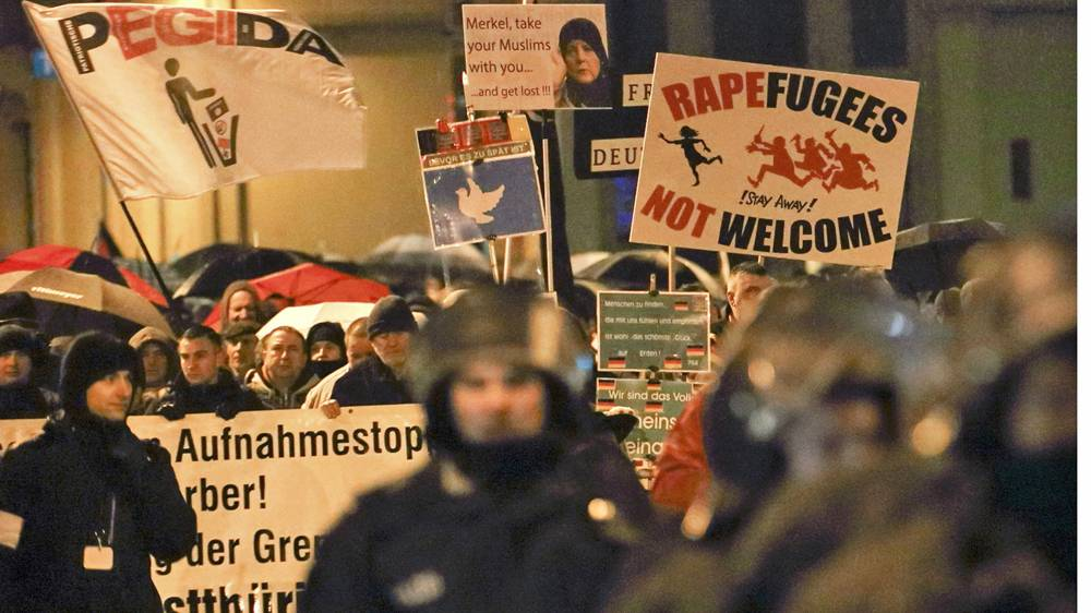 Jerman akan Tindak Tegas Para Penyerang Pengungsi