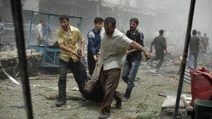 Puluhan Peziarah Syiah Tewas Dihantam Bom Kembar di Ibukota Suriah