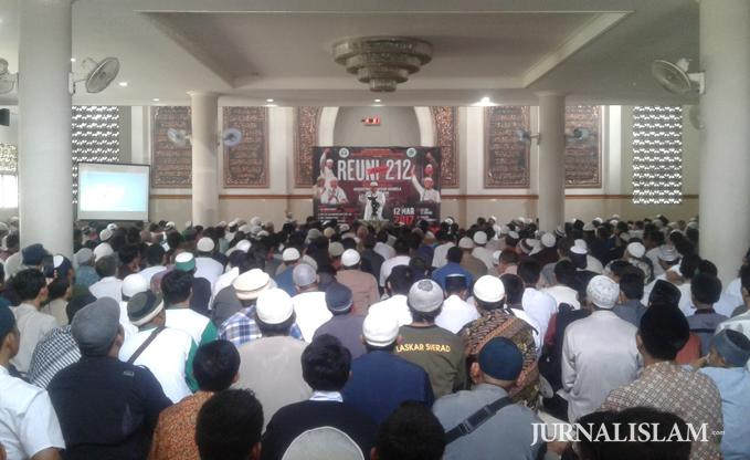 Reuni Alumni 212 di Solo Dihadiri Para 'Mujahid Ciamis'