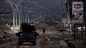 3 dari 5 Jembatan Sungai Tigris Kota Mosul Direbut Pasukan Irak, 100.000 Warga Mengungsi
