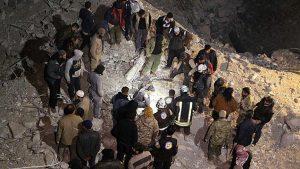 Jet Tempur Rusia Bunuh 44 Warga Idlib Saat Berbuka Puasa di Dekat Masjid