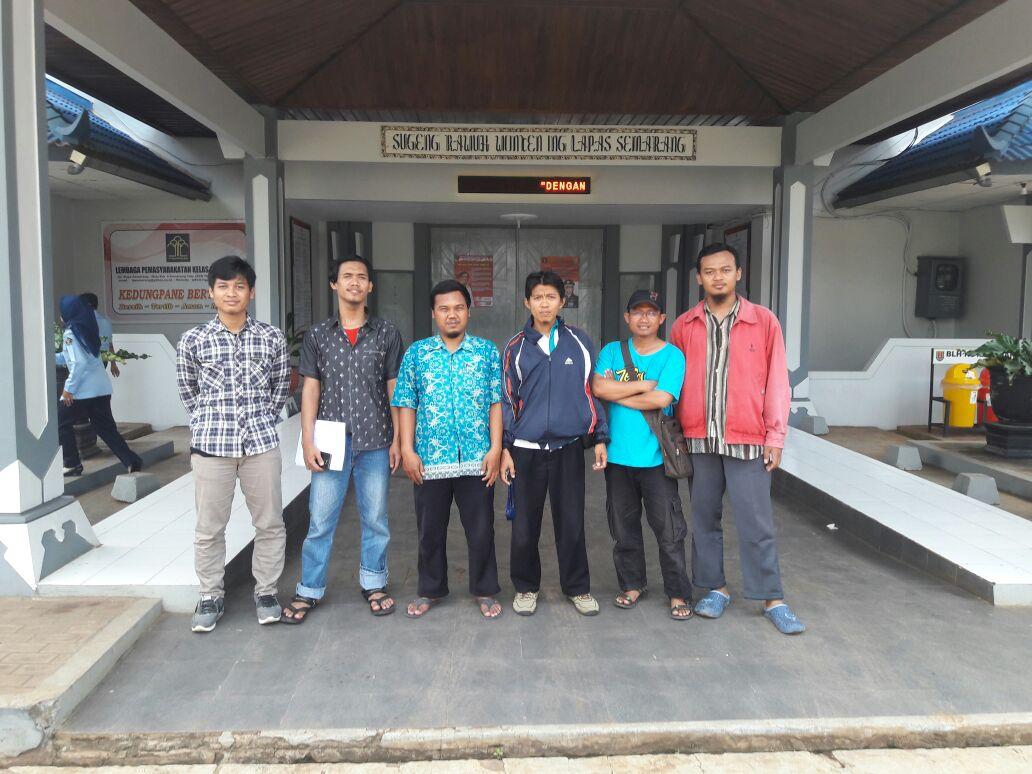 Senyum Merekah Saat Ranu Muda Dikunjungi JITU di Lapas Kedungpane Semarang