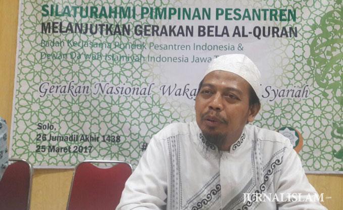 DDII dan BKS PPI Luncurkan Gerakan Nasional Wakaf Mushaf Syariah