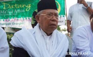 KH Ma'ruf Amin Siap Bersilaturahim dengan Peserta Ijtima Ulama III