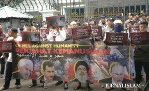 Aliansi Merah Putih Minta Pemerintah RI Fasilitasi Penyaluran Bantuan Untuk Suriah
