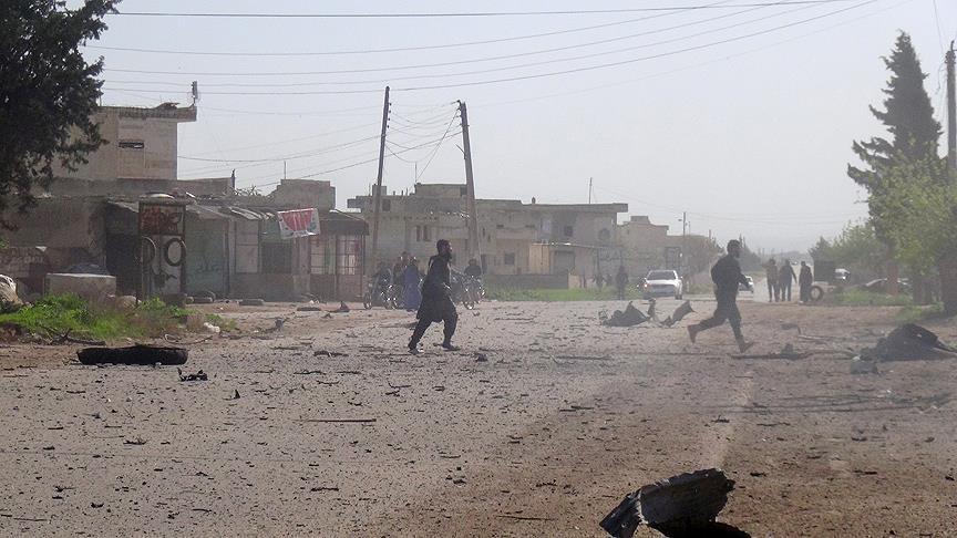Lagi, Jet Tempur Rusia Targetkan Warga Idlib dengan Bom Kluster