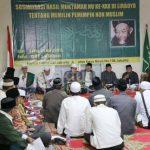 Katib Suriah PBNU: 'Kalau Masih Ada yang Islam, Ya Pilih yang Islam'