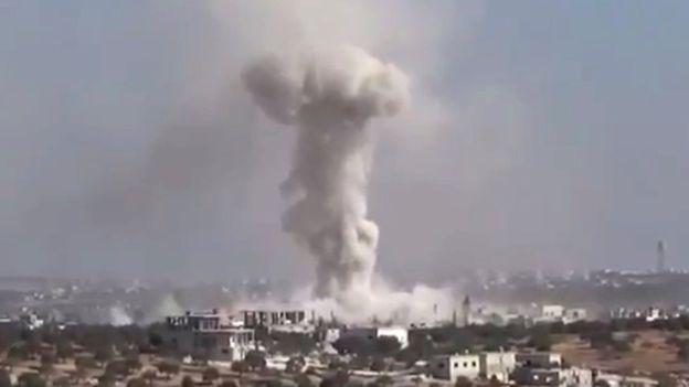 Jet Tempur AS, Rusia dan Assad Gempur Warga Sipil, Puluhan Tewas