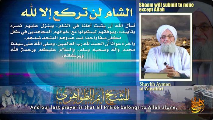 Dr Ayman al Zawahiri Peringatkan Adanya Agenda 'Nasionalis' di Suriah