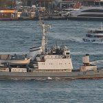 Kapal Perang Rusia Tenggelam setelah Tabrakan di Laut Hitam