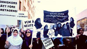 Wanita Muslim pada Hari Buruh di Eropa: 'Jilbabku Bukan Urusanmu'