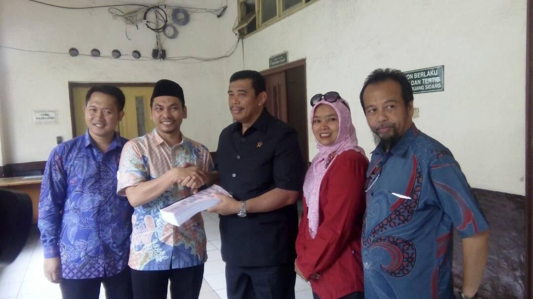 Sambangi PN Jakut, GNPF Berikan Surat Dukungan dan Yurisprudensi