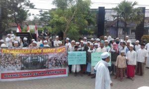 Aliansi Umat Islam Pasuruan Desak Jokowi Copot Jaksa Agung dan JPU Ahok