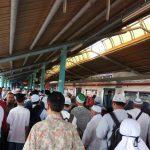 Stasiun Juanda Dipadati Ribuan Massa Aksi Simpatik 55