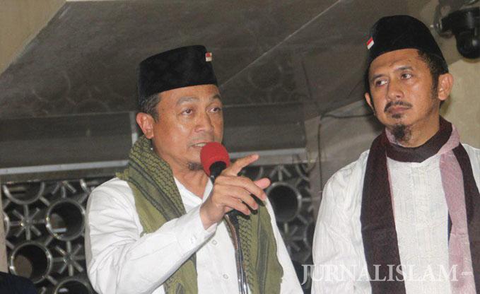 Ustaz Bachtiar Nasir Serukan Pegiat Kemanusiaan Bersinergi Bersama AIMMA