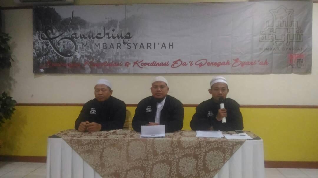 Deklarasi Mimbar Syariah untuk Konsolidasi Dai Penegak Syariat Islam