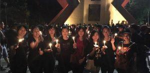 Polisi Bubarkan Aksi 1000 Lilin di Bandung