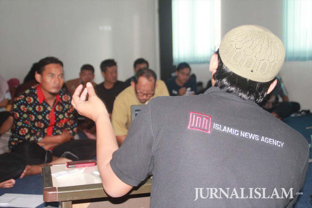 26 Peserta Antusias Ikuti Pelatihan Jurnalistik Jurnalislam.com di Surabaya
