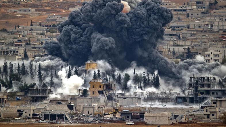 Jet Tempur Koalisi AS Gempur Milisi Syiah Dukungan Iran di Suriah