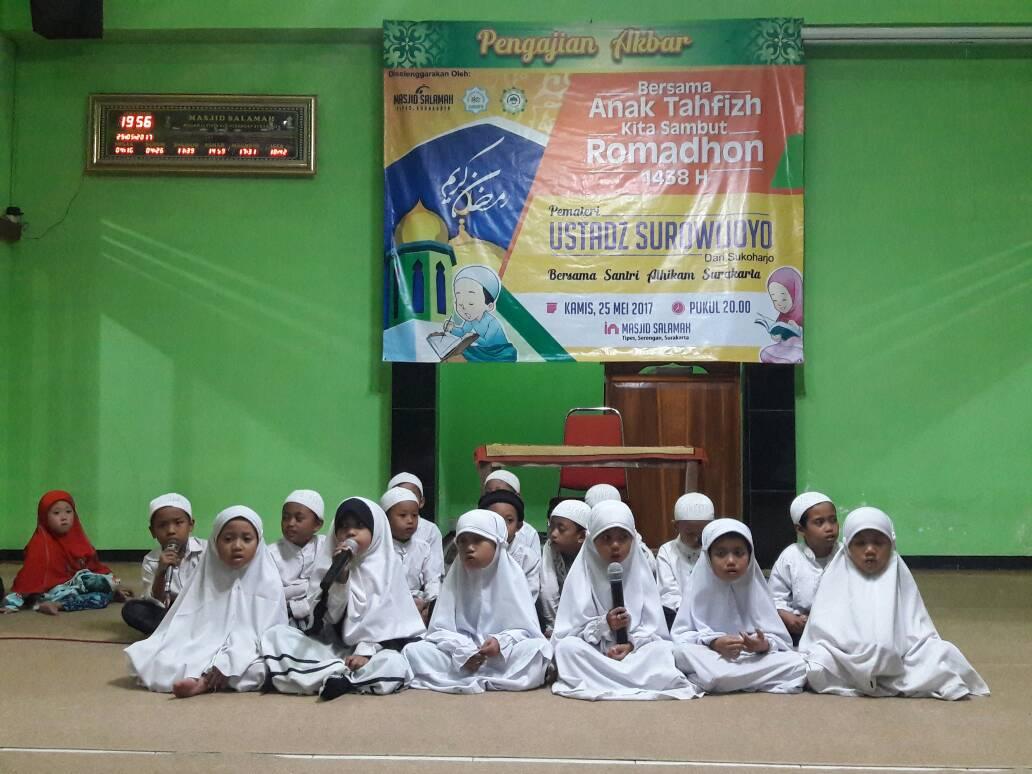 Sambut Ramadhan, Siswa- Siswi STTD Al Hikam Solo Bacakan Hafalan Quran