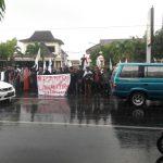Muslimah KAMMI Dianiaya, Mahasiswa Solo Desak Polisi Dihukum dan Minta Maaf