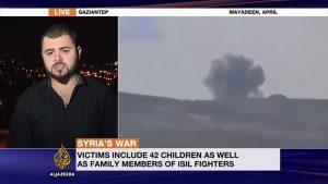 Serangan Udara AS Targetkan Warga Sipil IS di Suriah, 106 Tewas