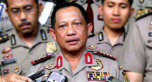 Kapolri Desak Presiden Terbitkan Perppu Terorisme