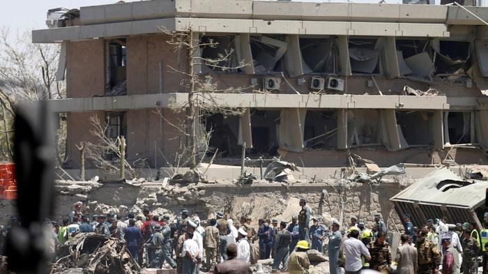 Serangan Bom Truk Hantam Kota Kabul, 90 Orang Lebih Tewas