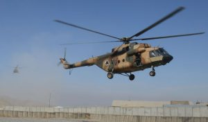 Serangan IED Taliban Mampu Hancurkan Helikopter Hip Mi-8 Afghanistan