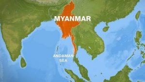 Pesawat Militer Myanmar yang Hilang Ditemukan di Tengah Laut Andaman, 100 Tewas