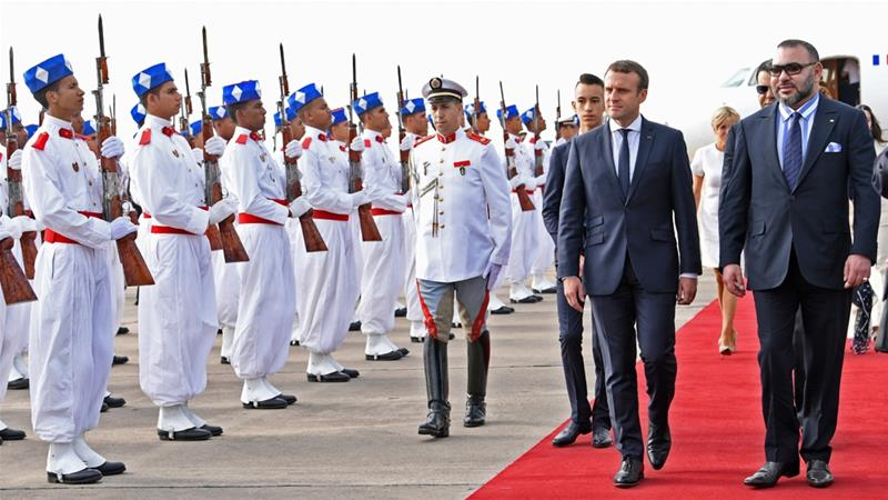 Presiden Perancis Kunjungi Marako Bahas Krisis Qatar