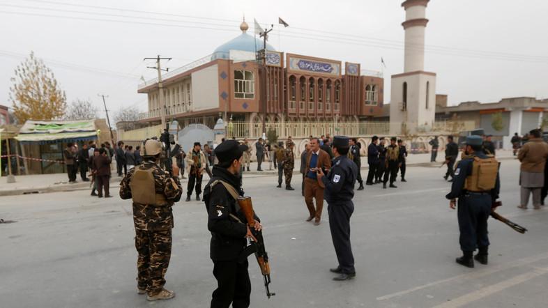 Kuil Syiah di Afghanistan Dibom