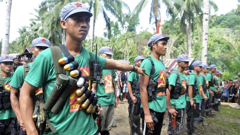 Filipina Tunda Serangan pada Pemberontak Komunis untuk Fokus Memerangi IS di Marawi