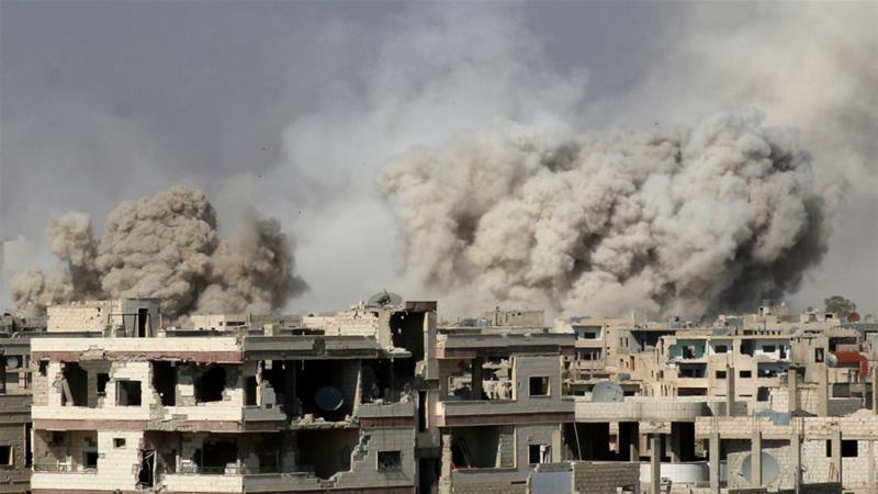 Rezim Syiah Assad Kembali Bombardir Kota Deraa