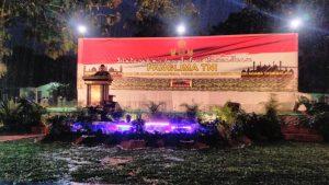 Di Tengah Hujan Deras, Pekik Takbir Sambut Orasi Jihad Panglima TNI