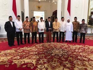 Bertemu Jokowi, GNPF MUI Desak Kriminalisasi Ulama Segera Dihentikan