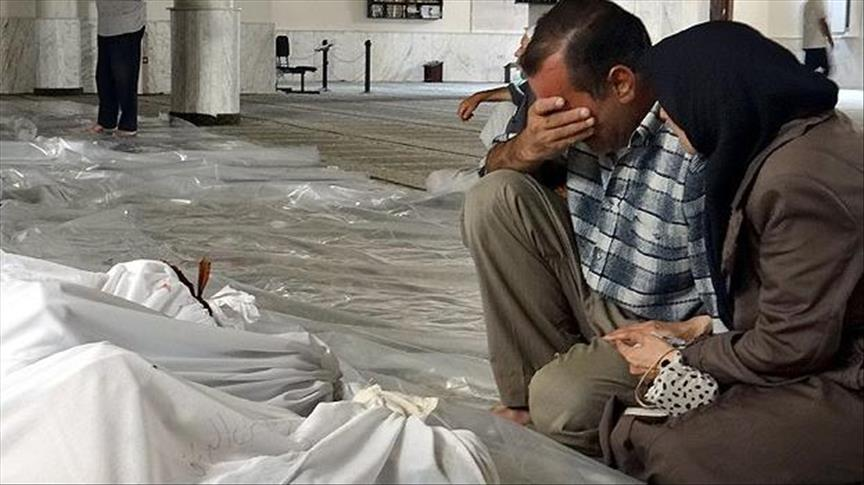 LSM Ghouta: 22 Pusat Kesehatan, 1 Panti Asuhan dan 1 Masjid Diratakan Rezim Assad dan Rusia