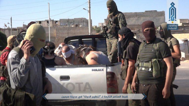 HTS Bongkar Sel-sel al Bagdadi di Provinsi Idlib, 100 Pasukan IS Ditangkap