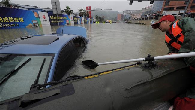 Hujan 2 Pekan di China Tengah: 63 Tewas, 20 Hilang dan 1,6 Juta Orang Mengungsi