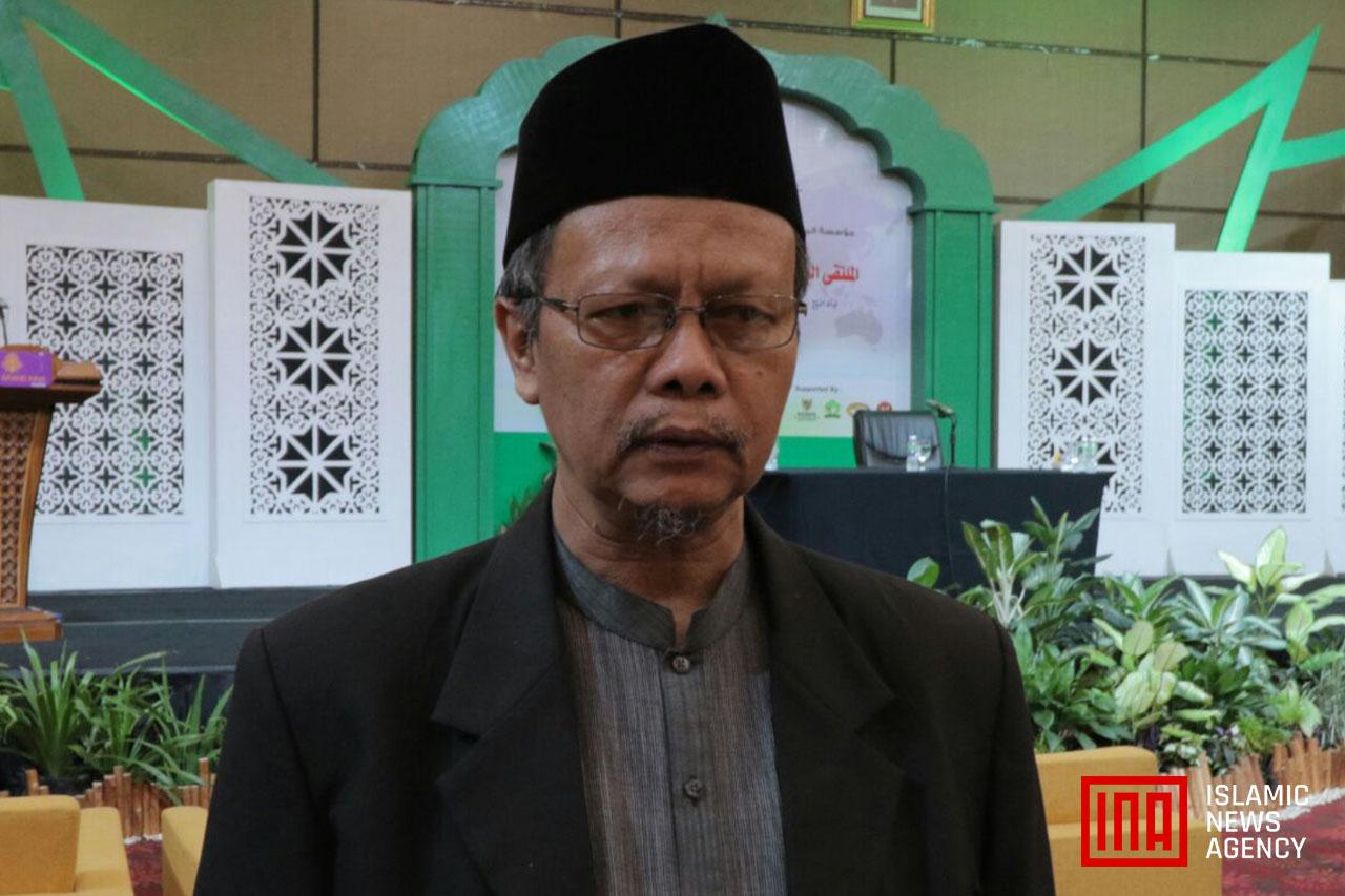 Prof. Yunahar Ilyas Sampaikan Peran MUI Dalam Pertemuan Ulama Dunia di Padang