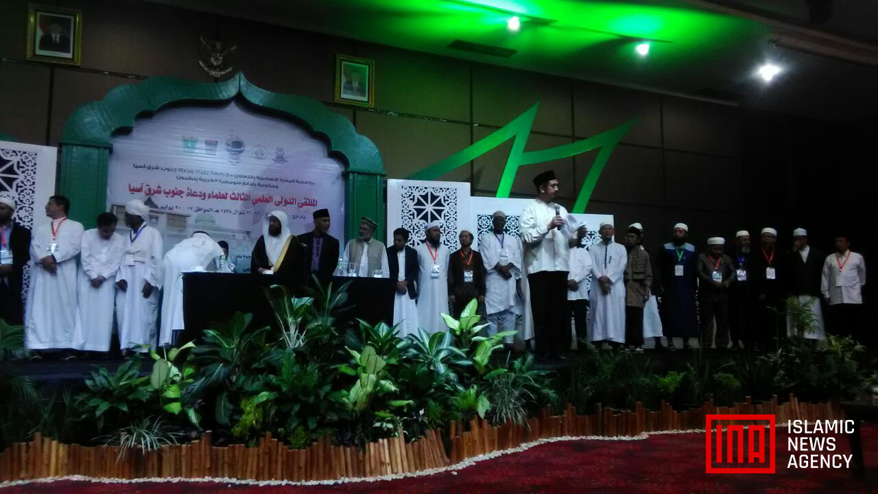 """Pertemuan Ulama Dunia di Padang Lahirkan """"Deklarasi Padang"""""""