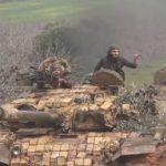 Hayat Tahrir al Sham Tembak Jatuh Drone Syiah Hizbullah di Qalamoun