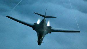 Tanggapi Uji Coba Rudal Korut, Pembom B-1B AS Terbang Rendah di Semenanjung Korea