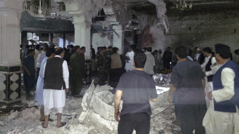 Serangan Bom Hantam Kuil Syiah di Herat, 30 Tewas dan 63 Terluka