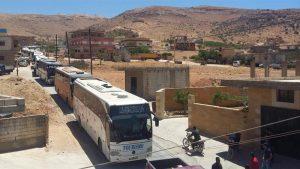JFS dan Ribuan Warga Sipil Mulai Meninggalkan Perbatasan Libanon Menuju Idlib