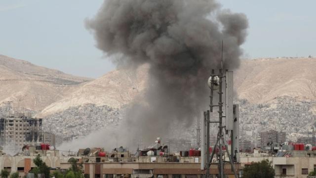 Kedubes Rusia di Damaskus Dibombardir Serangan Mortir