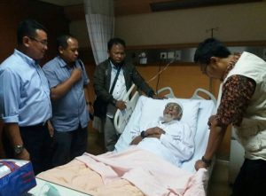 Ustadz Abu Bakar Ba'asyir Dibawa ke Rumah Sakit, Mohon Doa Untuk Kesembuhannya
