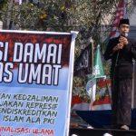 Ribuan Santri, Ulama, dan Kiai Aswaja Sambangi DPRD Jatim Tolak Perppu Ormas