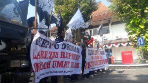 Geruduk DPRD Surakarta, AMPS : Jangan Pilih Calon Pendukung Perppu Ormas