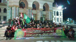 Napak Tilas Para Pejuang Kemerdekaan, Santri Tahfiz BMQ Gelar Longmarch Jogja-Karanganyar
